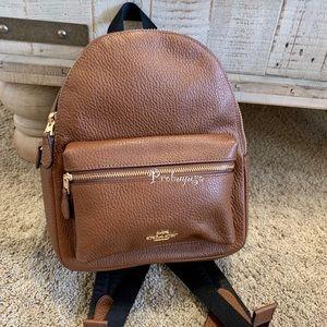 NWT Coach leather mini backpack F28995